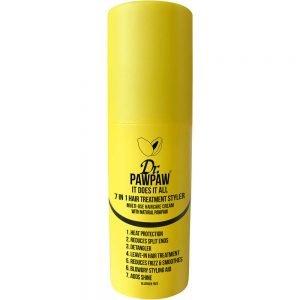 Jedinstveni 7 u 1 proizvod: štiti od topline, smanjuje lomljenje vrhova, olakšava raščešljavanje, leave-in tretman za kosu, zaglađuje, pomaže pri stylingu i dodaje sjaj.
