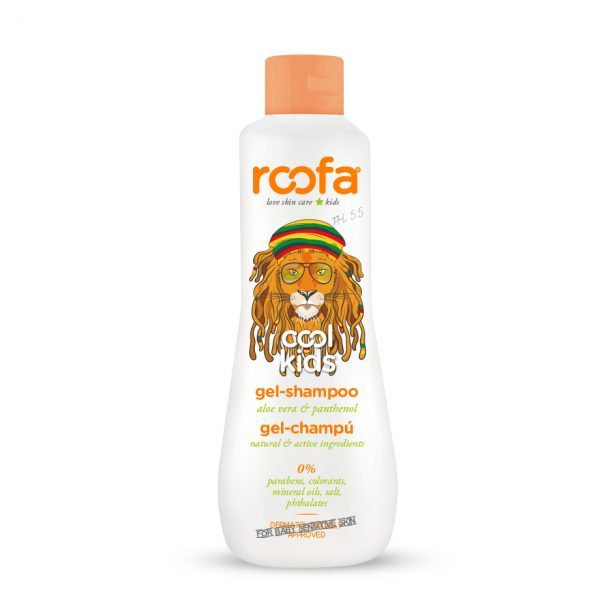Roofa Cool Kids gel šampon - aloe vera i neven