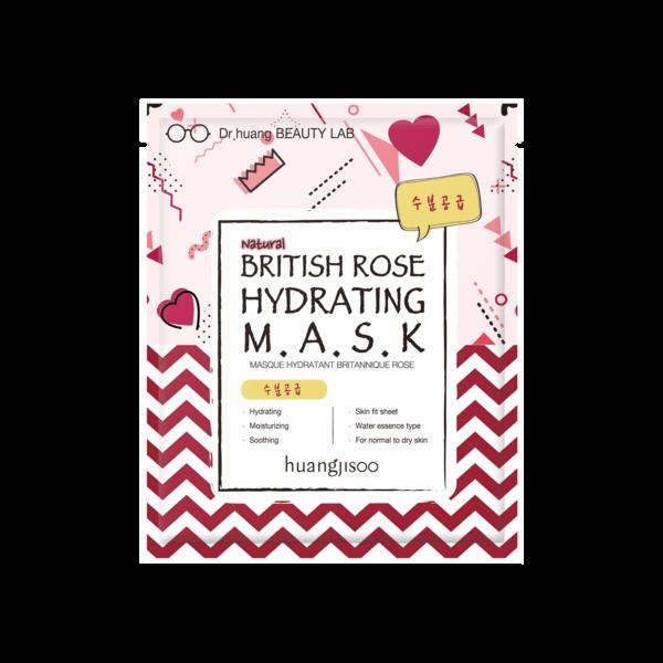 Huangjisoo - hidratantna maska (Britanska ruža)