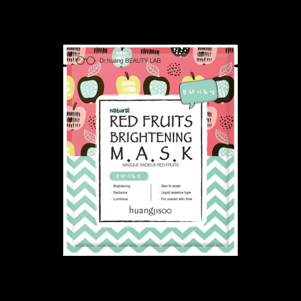 Huangjisoo - maska za posvjetljivanje (Crveno voće)